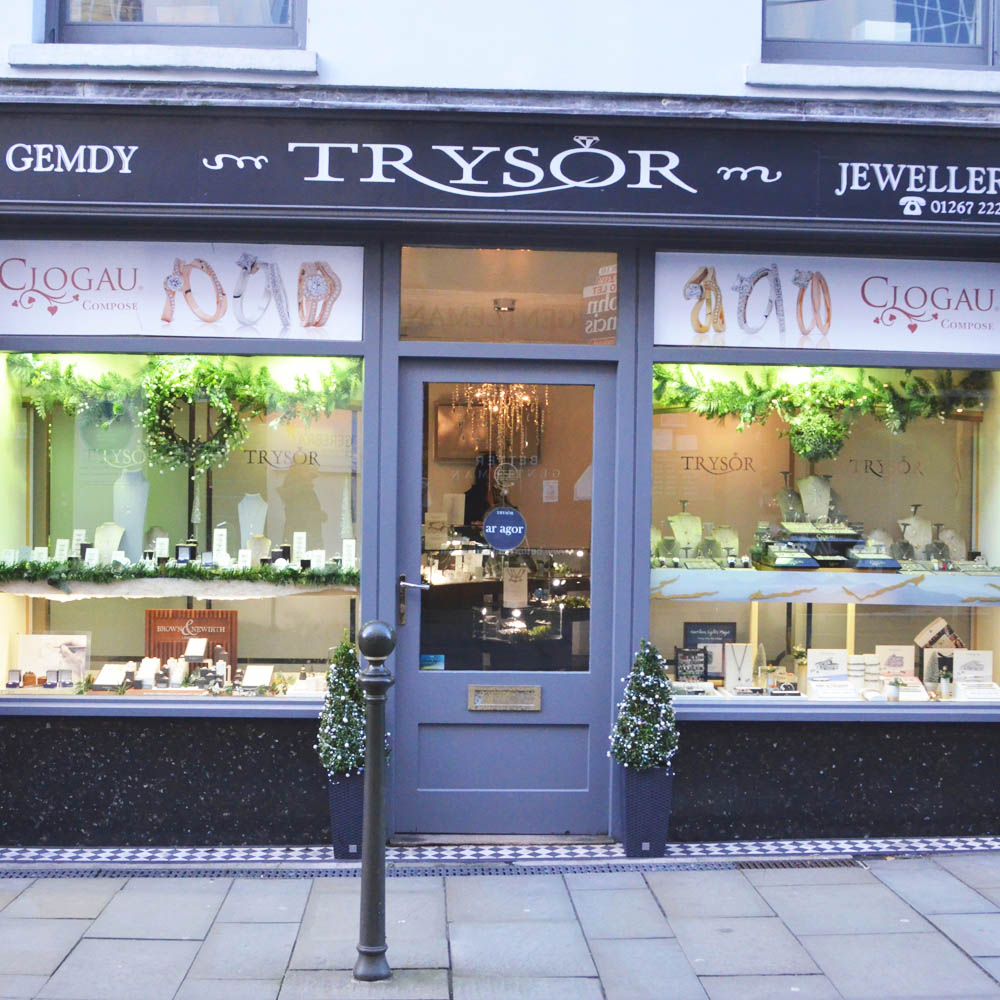 Trysor Jewellers in Carmarthen, Wales