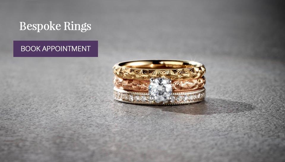 Bespoke Welsh Wedding Rings by Trysor Jewellers