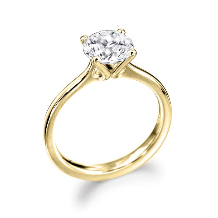 Trysor 18ct Yellow Gold Diamond
