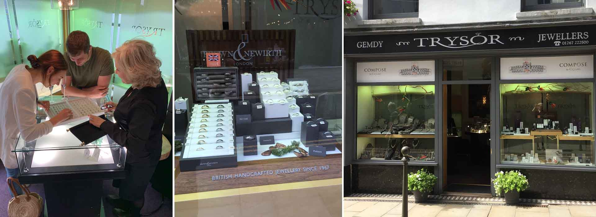 Welsh Jewellery & Welsh Engagement Rings by Trysor Jewellers