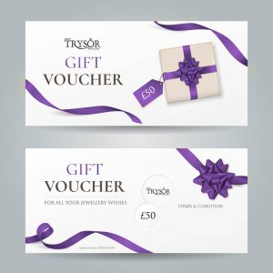 Trysor Jewellers Gift Vouchers